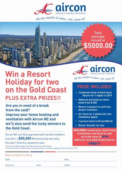 Win a Resort Holiday for Two on Gold Coast plus Extra Prizes!!