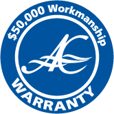 $50,000 workmanship warranty