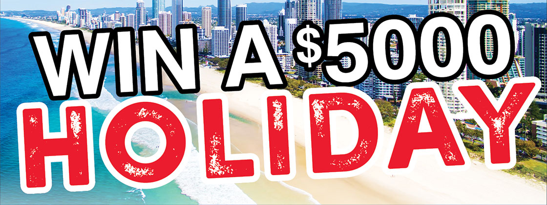 Win a $5000 Holiday