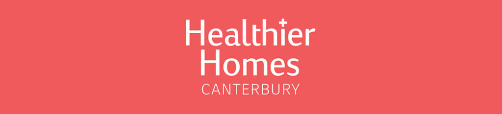 Healthier Homes Canterbury Banner