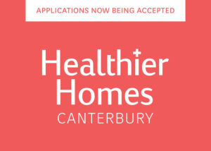 Healthier Homes Canterbury applications now being accepted