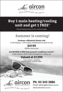 Buy 1 main heating/cooling unit and get 1 FREE